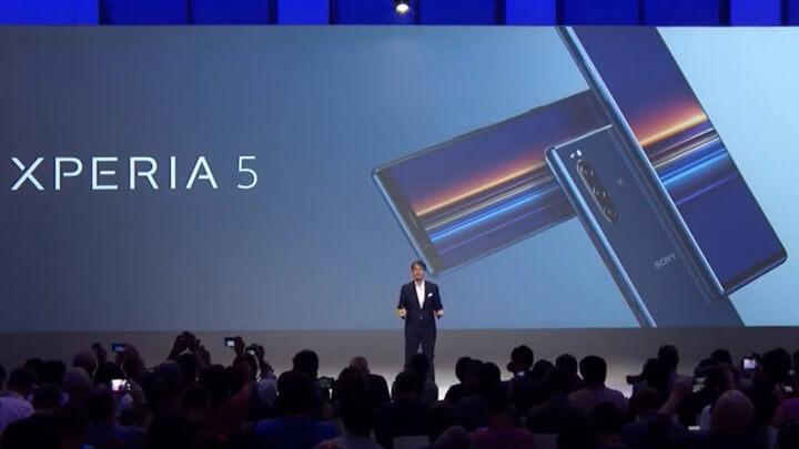 Sony giới thiệu Sony Xperia 5 tại IFA 2019