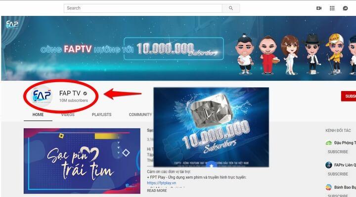 FAP TV kênh YouTube đầu tiên Việt Nam đạt nút kim cương