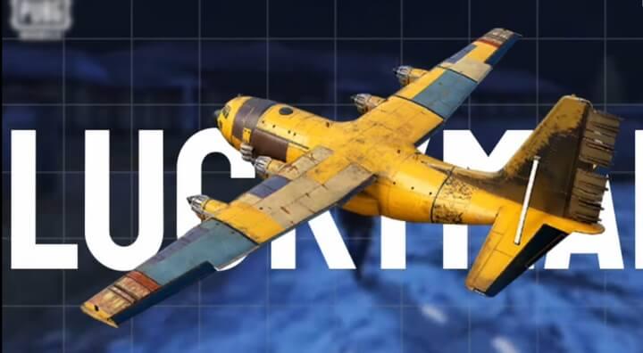 Máy bay kiểu vàng chóe