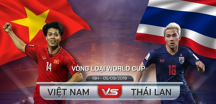Link xem trực tiếp trận cầu đỉnh cao giữa 2 đại kình địch Đông Nam Á Thái Lan vs Việt Nam trong khuông khổ vòng loại World Cup 2022