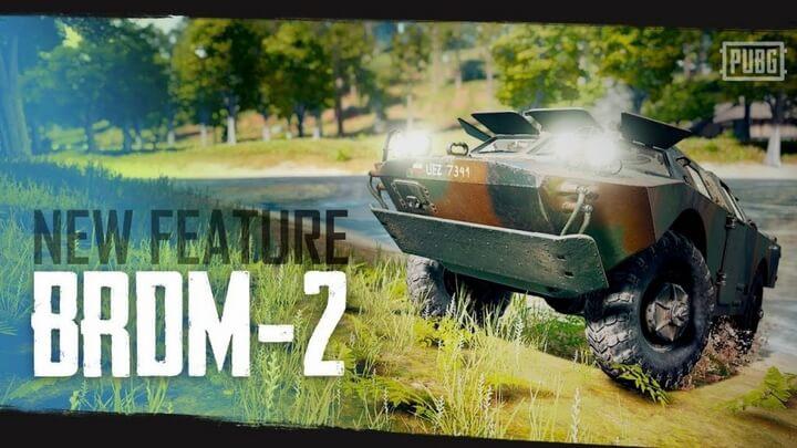 10 địa điểm xuất hiện xe BRDM-2 trong Payload Mode