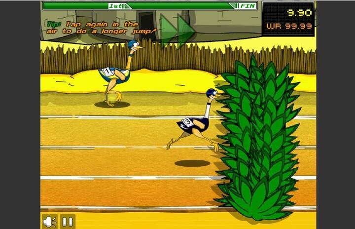 Big Birds Racing cuộc đua của những chú đà điểu