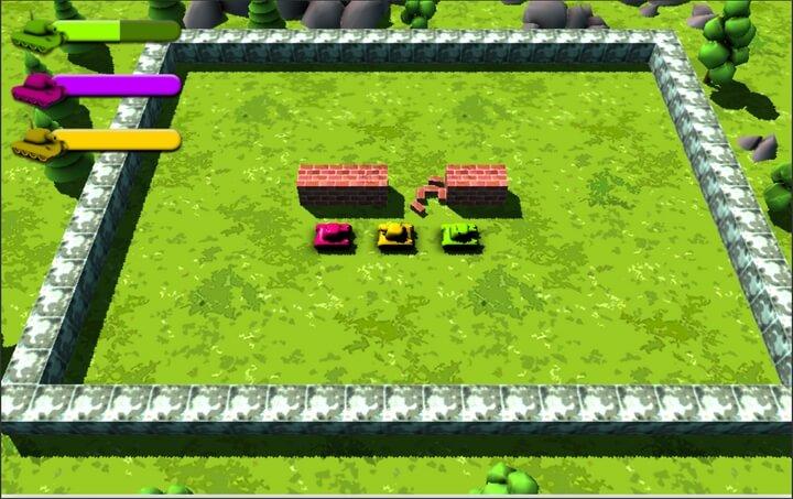 War of Metal cuộc chiến bắn xe tăng trên sân cỏ