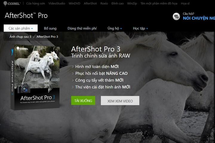 Key Corel AfterShot 3