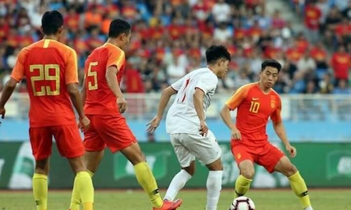 Ở trận đấu mới nhất, U22 Việt Nam đã thắng U22 Trung Quốc 2-0 ngay trên sân khách. - Ảnh:Sport163.