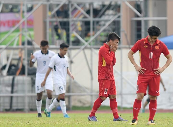 Thất bại tại SEA Games 29 ảnh hưởng đến nhóm hạt giống của U22 Việt Nam