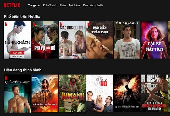 Phim liệt kê theo ngôn ngữ tiếng việt