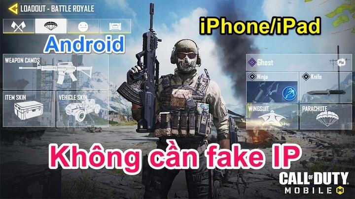 Cách tải và cài đặt game không cần fake ip
