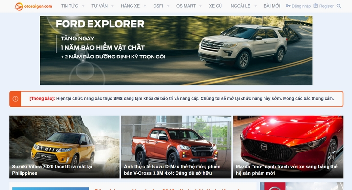 Otosaigon - Top Diễn Đàn ô tô lớn nhất Việt Nam hiện nay