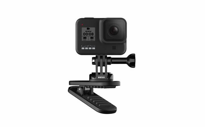 Magnetic Swivel Clip: Kẹp để giữ GoPro trên quai balo thế hệ mới