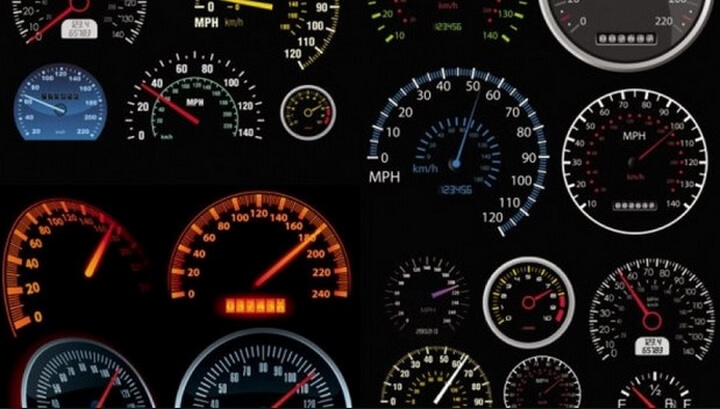 đồng hồ odo xe máy ô tô