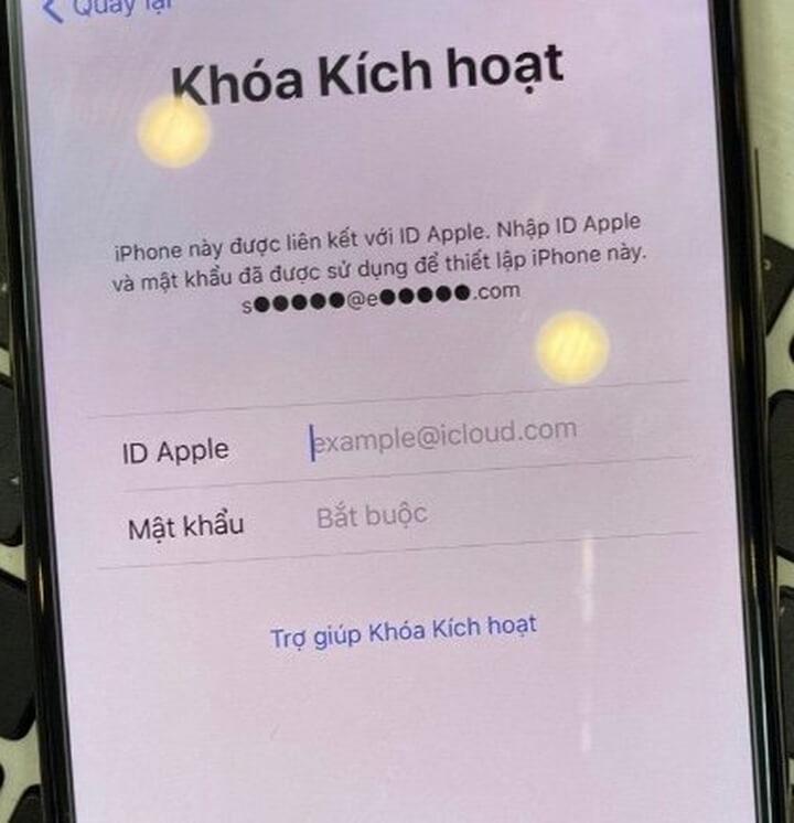check Find My iPhone báo OFF nhưng reset sẽ dính icloud