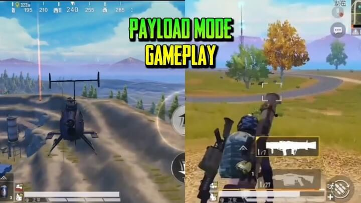 PUBG Mobile : Thông tin các loại vũ khí hạng nặng trong chế độ Payload