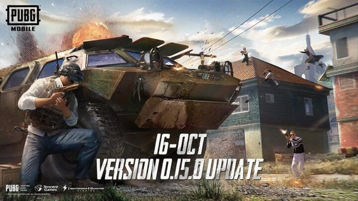 Update 0.15.0 PUBG Mobile có gì mới ? Súng UMP9 đổi tên UMP45