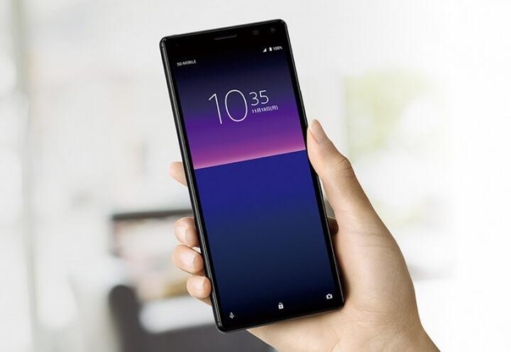 Sony Xperia 8 ra mắt với màn hình 21:9 camera kép chíp Snapdragon 630
