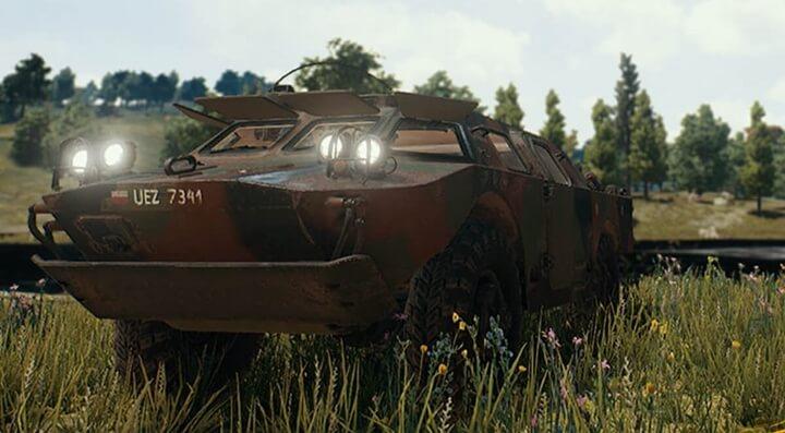 Xe bọc thép BRDM-2