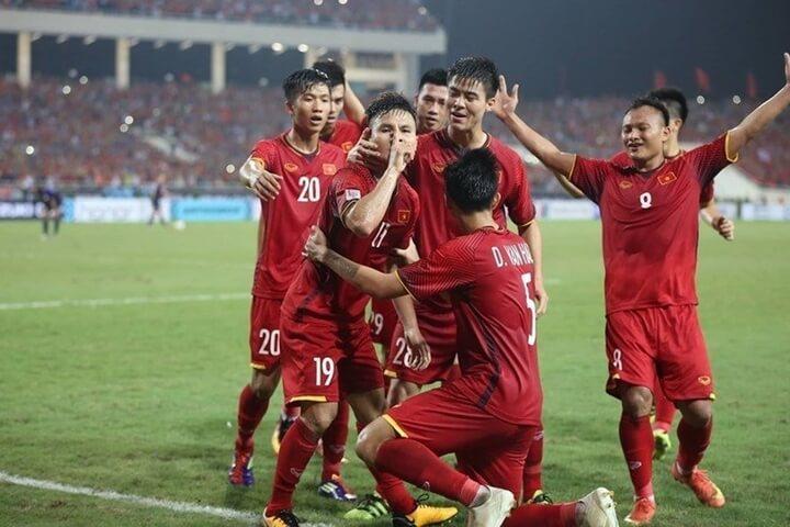 Tuyển Việt Nam có cơ hội để vượt mặt Thái Lan sau lượt đấu này.