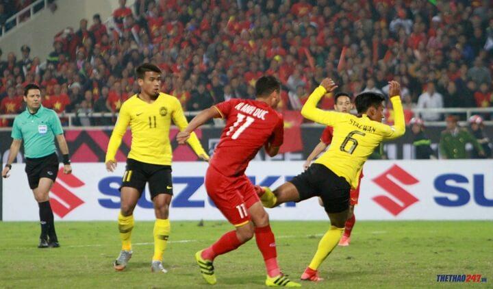 VTV5 trực tiếp bóng đá Việt Nam vs Malaysia
