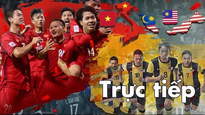 Trực tiếp VTV5,VTC1 bóng đá hôm nay Việt Nam vs Malaysia 20h ngày 10/10