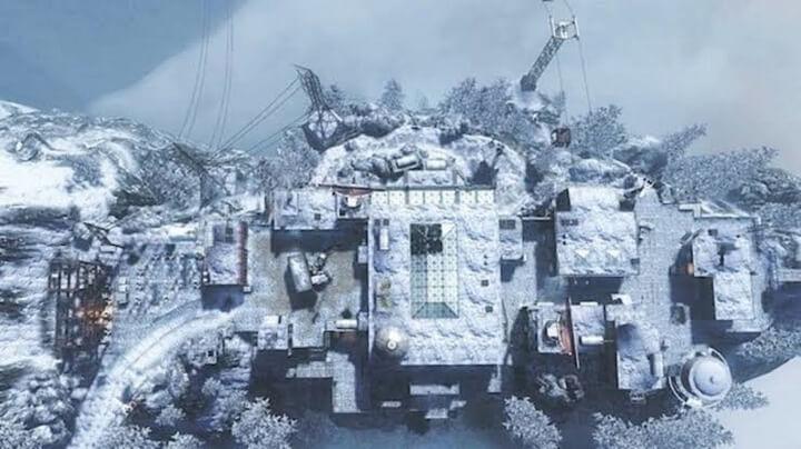 bản đồ nhiều người chơi có tên Summit