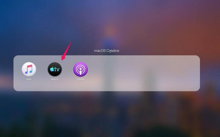 Mở ứng dụng Apple TV