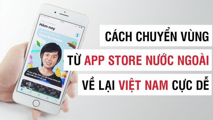 Cách chuyển vùng tài khoản Apple từ Mỹ, Canada, Đài Loan .... sang Việt Nam