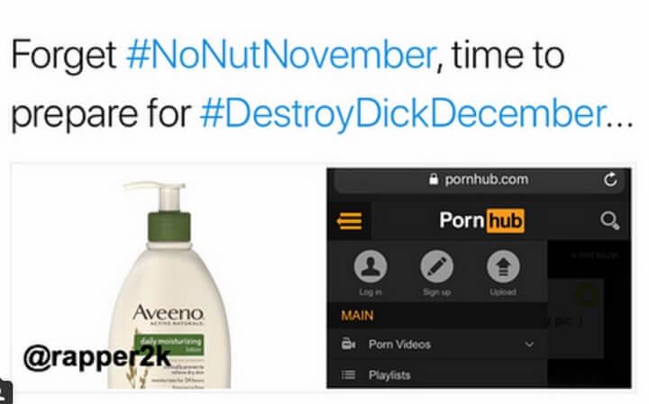 Destroy Dick December bệnh hoạn nhưng nhiều người hưởng ứng