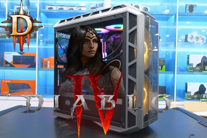 Cấu hình máy tính chơi DIablo 4 ( IV) khiến game thủ phải giật mình
