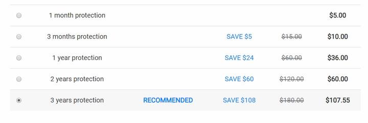 Bảng giá phần mềm VPN Seed4Me