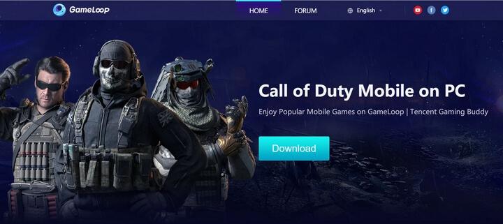 GameLoop trình giả lập Android trên PC siêu nhẹ chơi game siêu mượt