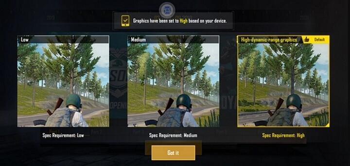 Test thử PUBG Mobile
