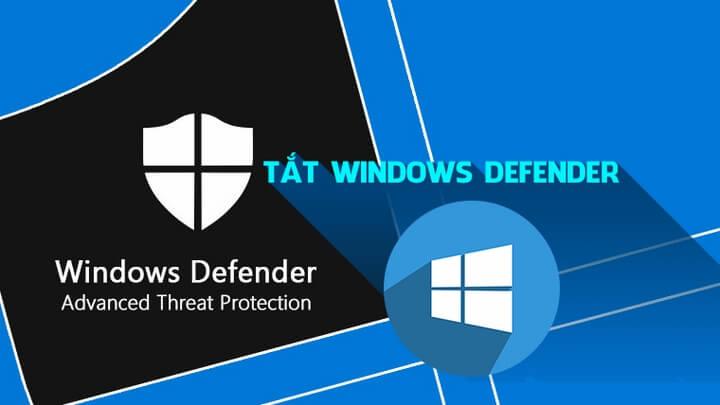 Tắt Window Defender