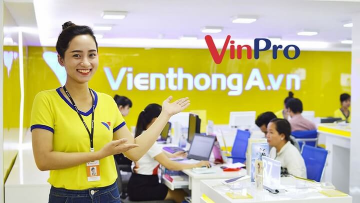 Viễn Thông A chính thức chuyển thành VinPro, sáp nhập website